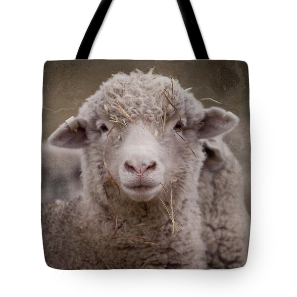 Hay Ewe Tote Bag by Michelle Wrighton