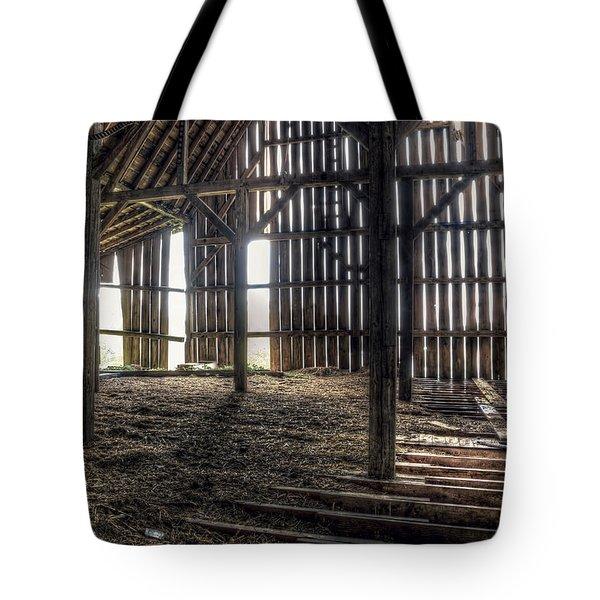 Hay Loft 2 Tote Bag by Scott Norris