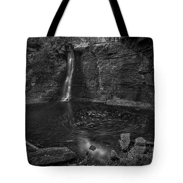 Hayden Swirls  Tote Bag by James Dean