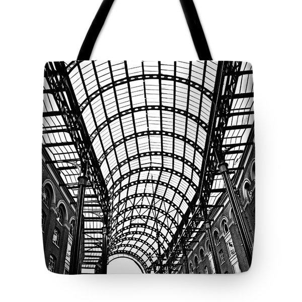 Hay's Galleria roof Tote Bag by Elena Elisseeva
