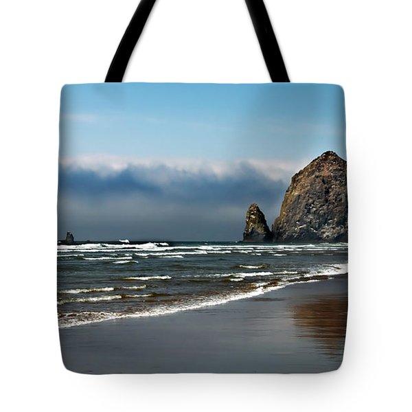 Haystack Tote Bag by Robert Bales