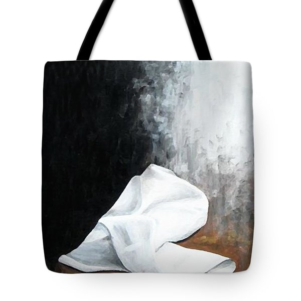 He Is Risen Tote Bag by Kume Bryant