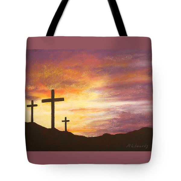 He Is Risen Tote Bag by Marna Edwards Flavell