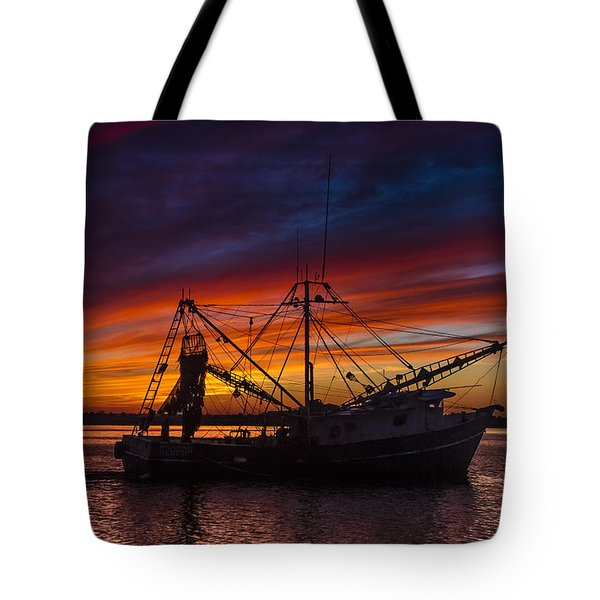 Heading Home Tote Bag by Debra and Dave Vanderlaan