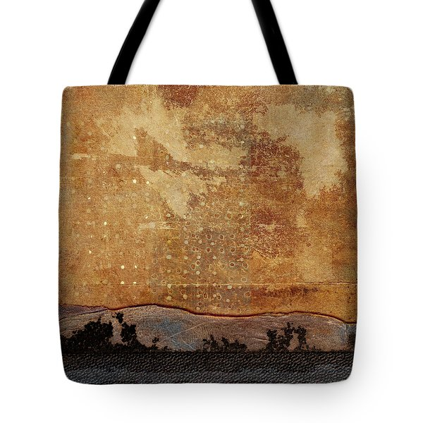 Heading West Tote Bag by Carol Leigh