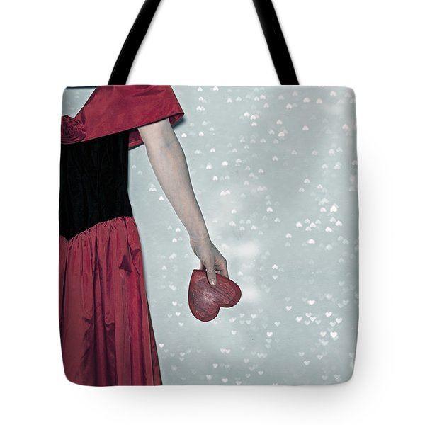 Headless Love Tote Bag by Joana Kruse