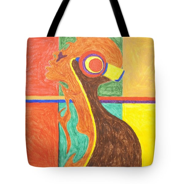 Headphones Nude  Tote Bag by Stormm Bradshaw
