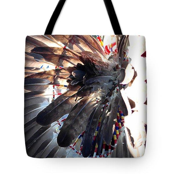 Headress Tote Bag by Kathleen Struckle