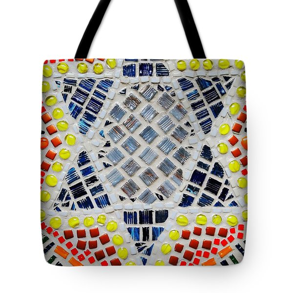 Healing star Tote Bag by Lisa Brandel