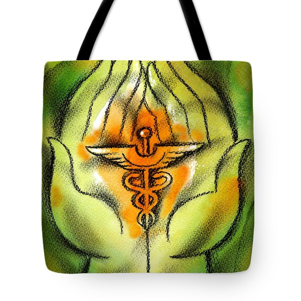 Health Insurance Tote Bag by Leon Zernitsky