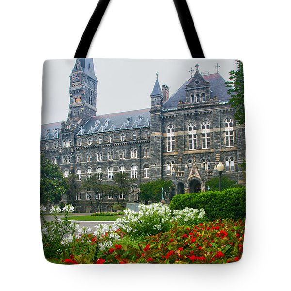 Healy Hall Tote Bag by Mitch Cat