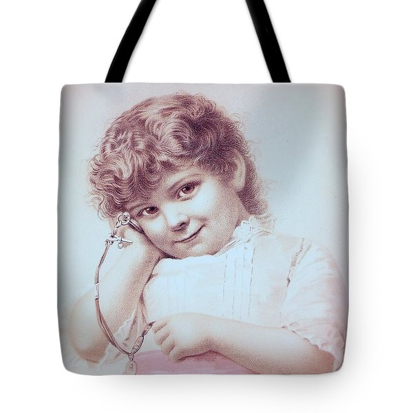 Hear It Tick Tote Bag by Angela Wright