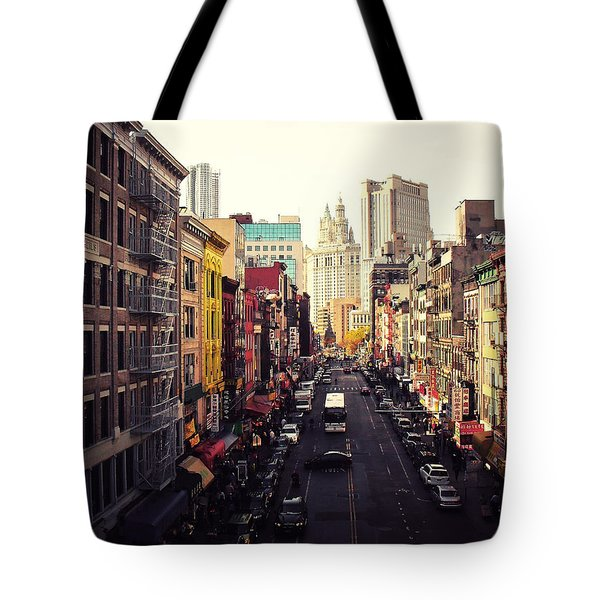 Heart Of It All Tote Bag by Vivienne Gucwa