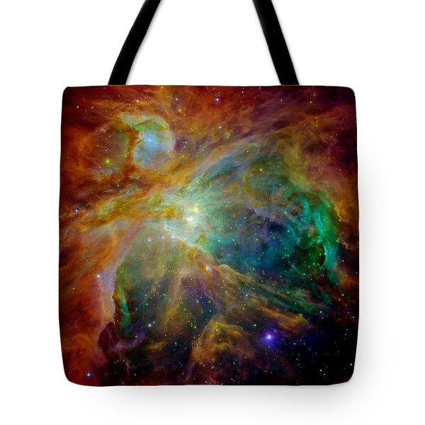 Heart Of Orion Tote Bag by Benjamin Yeager