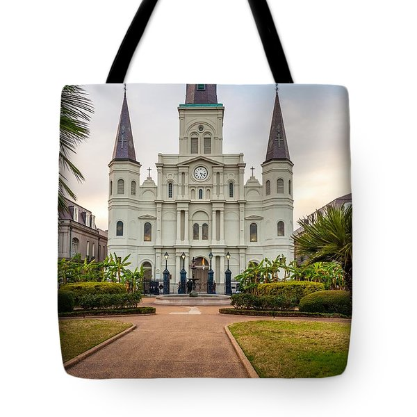Heart Of The French Quarter Tote Bag by Steve Harrington
