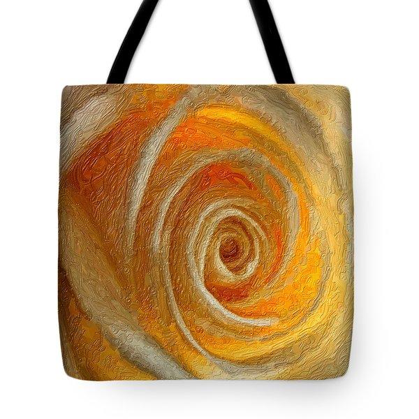 Heart of the Matter impasto Tote Bag by Steve Harrington