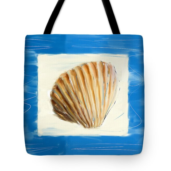 Heart Of The Sea Tote Bag by Lourry Legarde