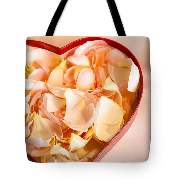 Heartfelt Tote Bag by Jan Bickerton