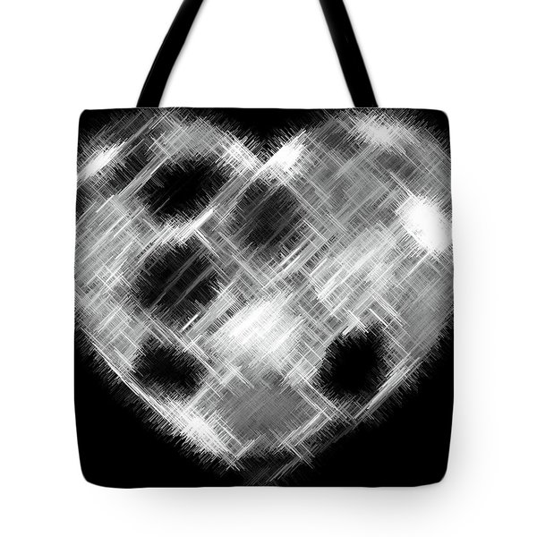 Heartline 10 Tote Bag by Will Borden