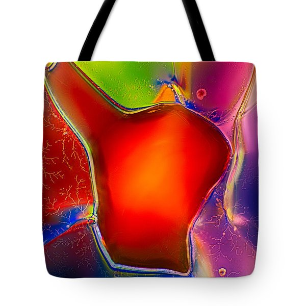 Hearts Tote Bag by Omaste Witkowski