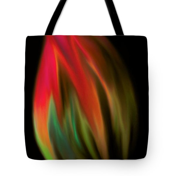 Heat Of The Moment Tote Bag by Marianna Mills