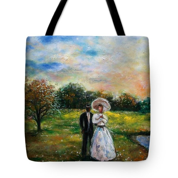 Heaven And Earth Tote Bag by Emery Franklin