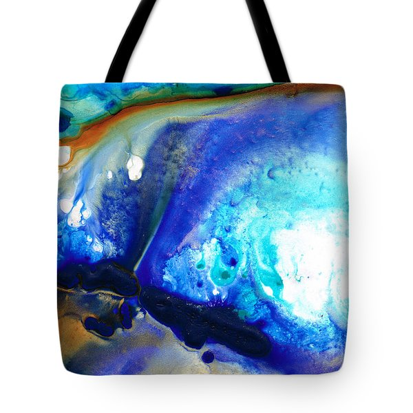 Heaven And Earth Tote Bag by Sharon Cummings