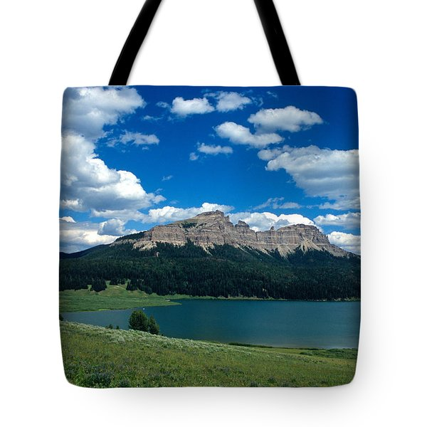 Heavenly Day Tote Bag by Kathy Yates