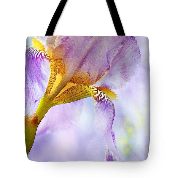Heavenly Iris 2 Tote Bag by Theresa Tahara