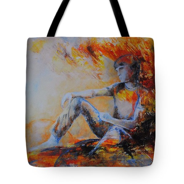 Heimatlos Tote Bag by Francoise Dugourd-Caput