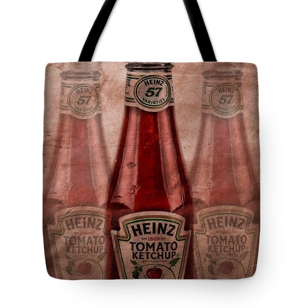 Heinz Tomato Ketchup Tote Bag by Dan Sproul