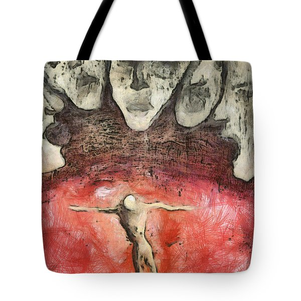 Hell Are The Others Tote Bag by Michal Boubin