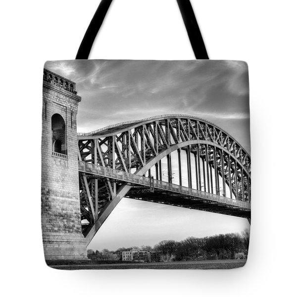 Hell Gate Bw Tote Bag by JC Findley