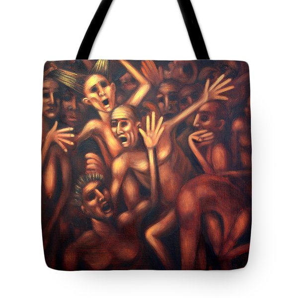 Hell The Alternative Tote Bag by Anthony Falbo