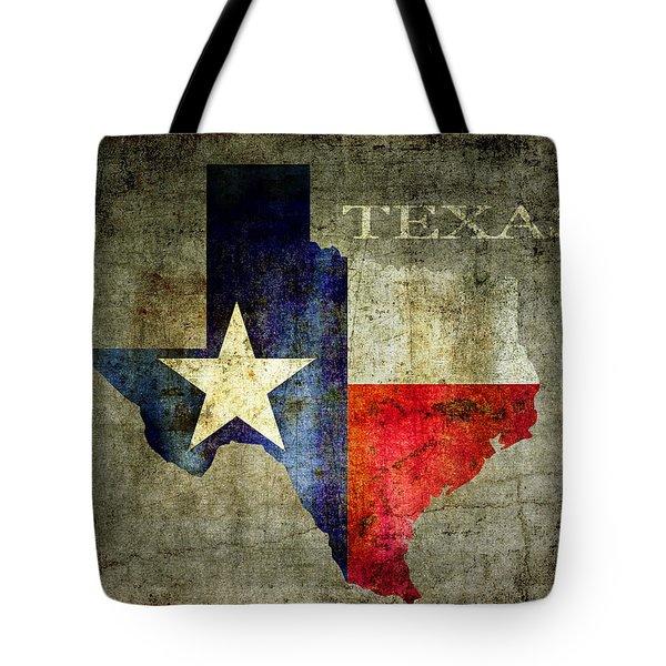 Hello Texas Tote Bag by Daniel Hagerman