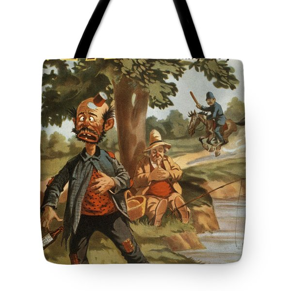 Help I Am Poisend It Is Tea Tote Bag by Aged Pixel