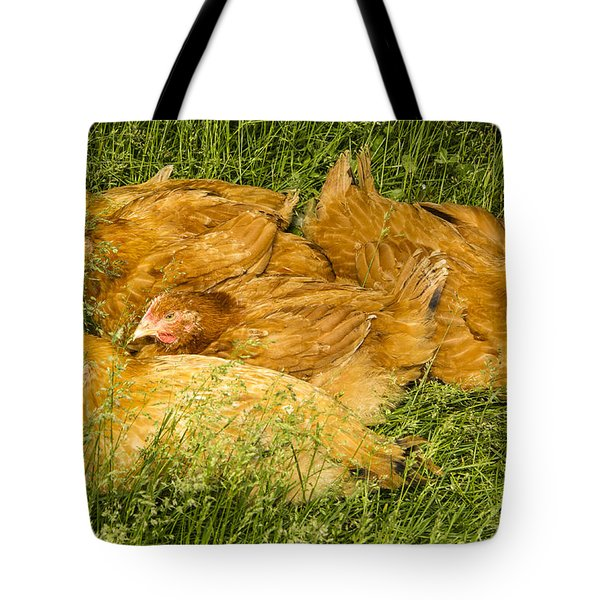 Hen Party Tote Bag by Jean Noren