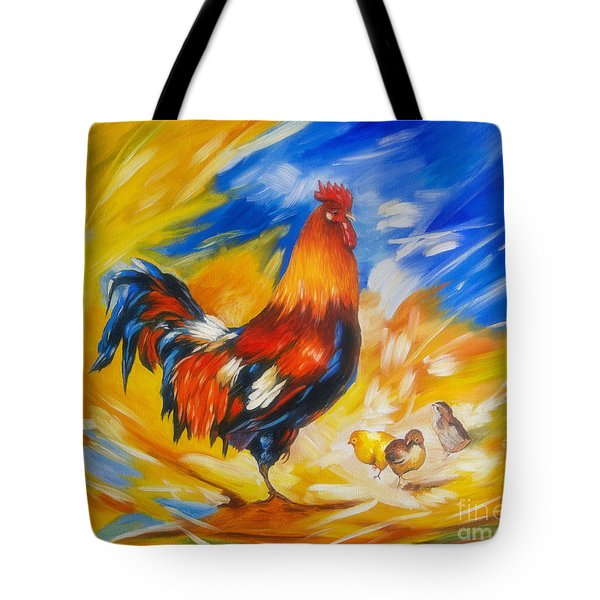 Henhouse Host Tote Bag by Veikko Suikkanen
