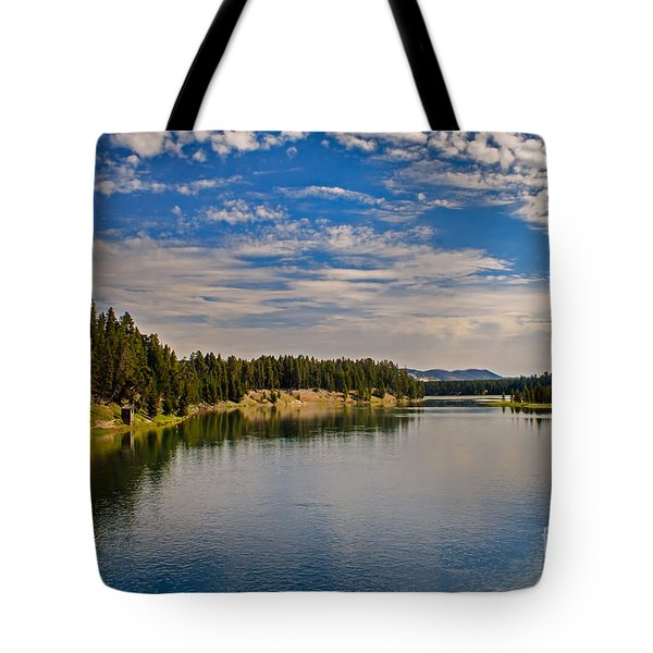 Henry Fork Of Snake River II Tote Bag by Robert Bales