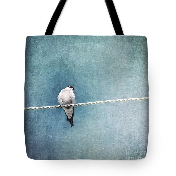 Herald Of Spring Tote Bag by Priska Wettstein