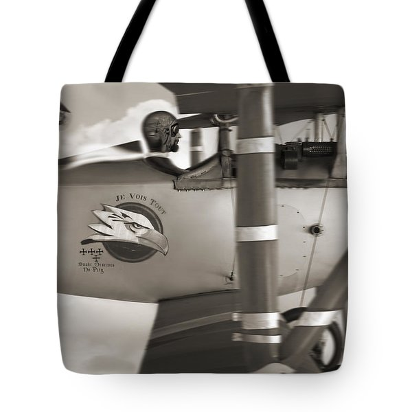Here Comes Trouble 4 Tote Bag by Mike McGlothlen
