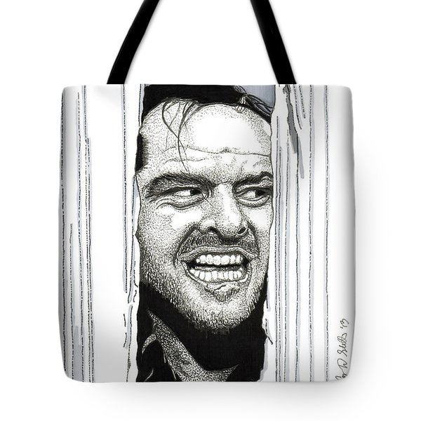 Here's Johnny Tote Bag by Cory Still