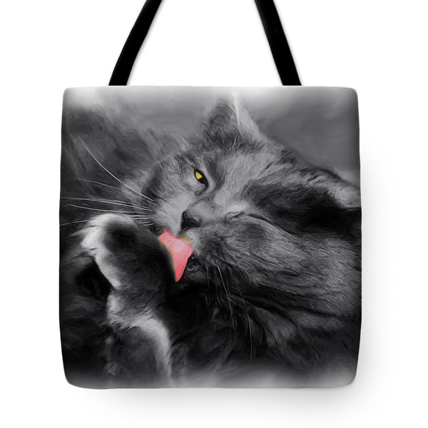 Here's Looking At You Tote Bag by Joann Vitali