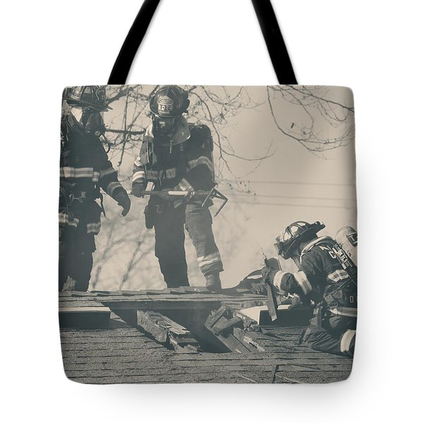 Heroes Tote Bag by Laurie Search