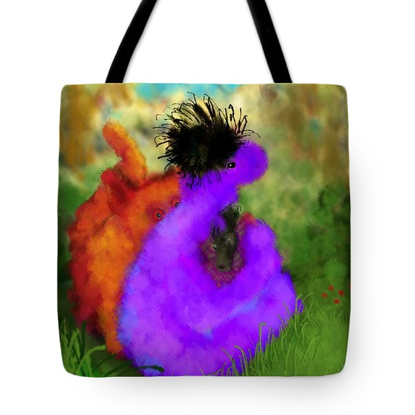 He's Mine Tote Bag by Mary Eichert