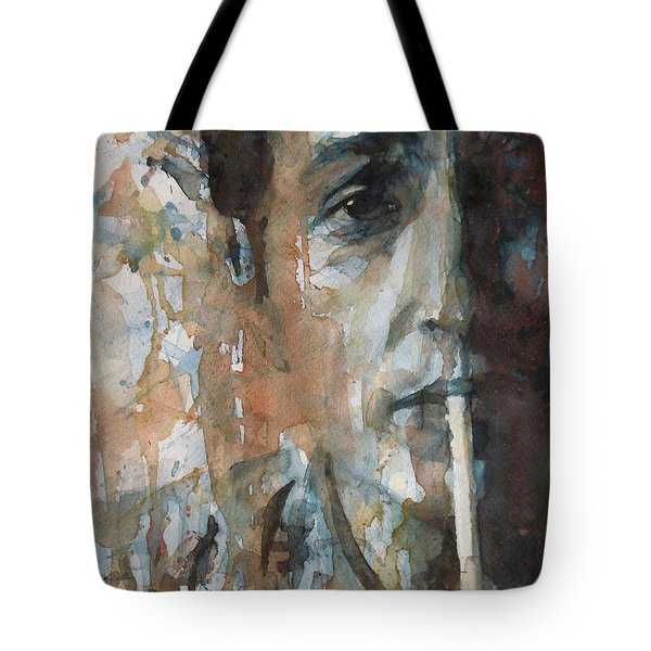 Hey Mr Tambourine Man Tote Bag by Paul Lovering