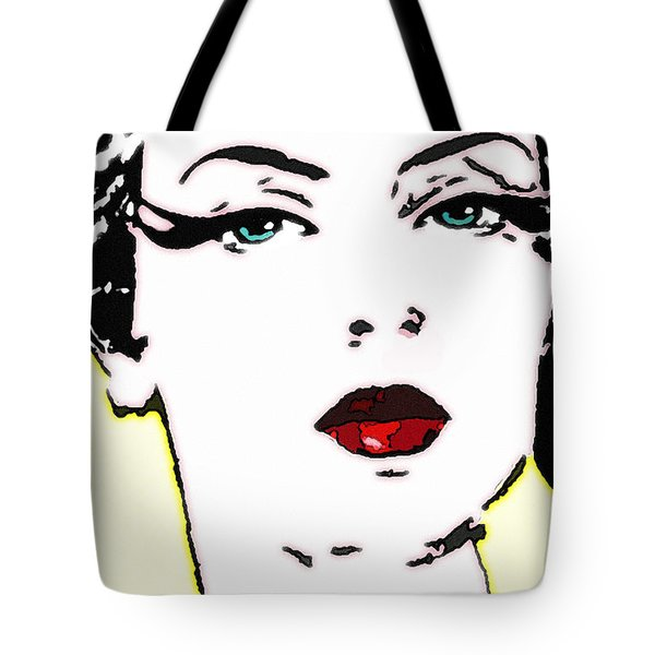 Hi Res Lady Tote Bag by Chuck Staley