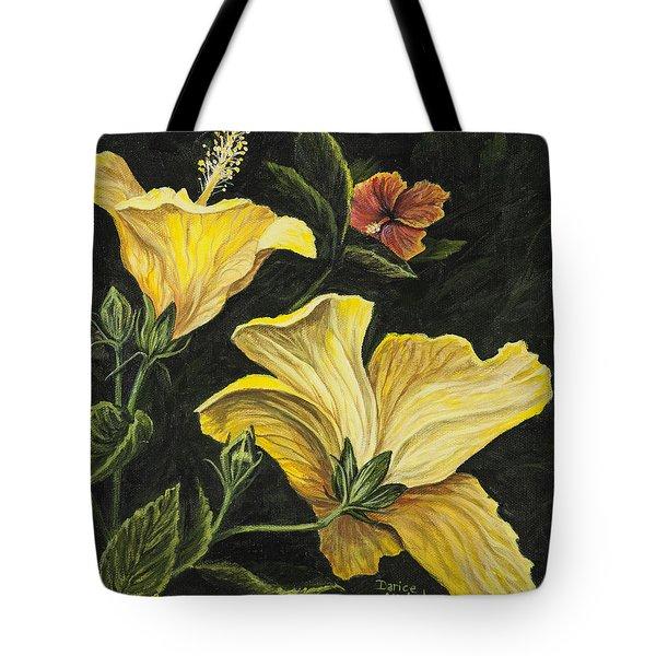 Hibiscus 2 Tote Bag by Darice Machel McGuire