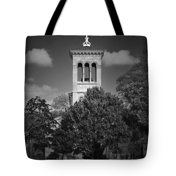 Hidden Church On Thames Tote Bag by Maj Seda