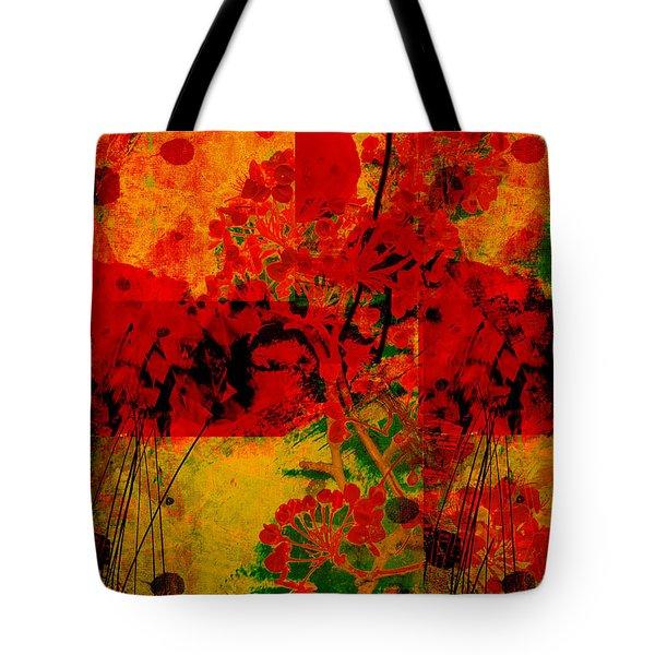 Hidden Garden Tote Bag by Ann Powell